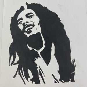 UNIQUE Bob Marley Drawing